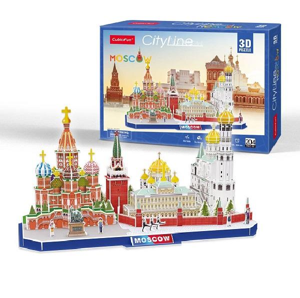 3D PUZZLE City line Moscow