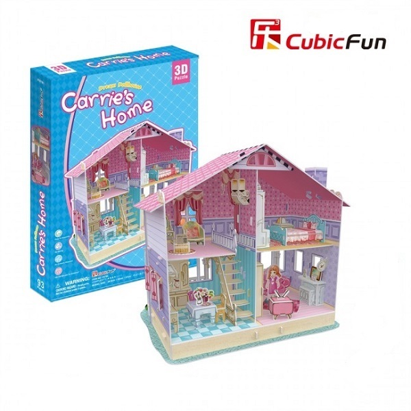 3D PUZZLE Dream Dollhouse - Carrie's Home