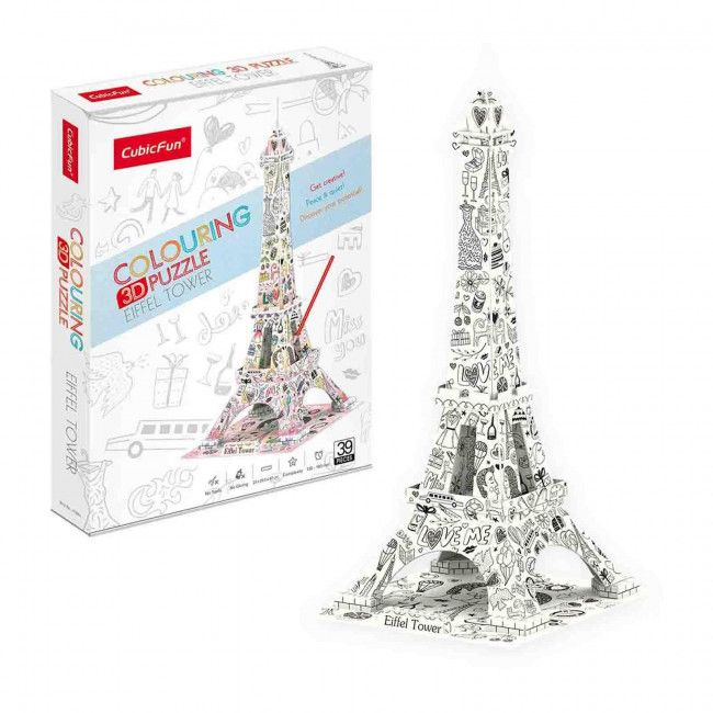 3D PUZZLE Eiffel Tower