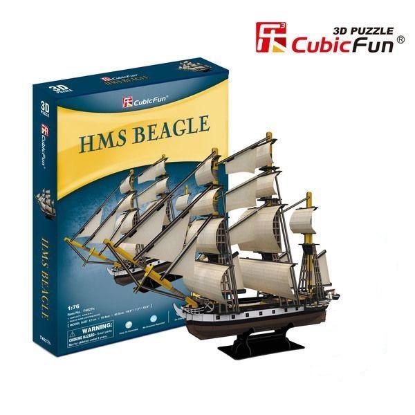 3D PUZZLE HMS Beagle