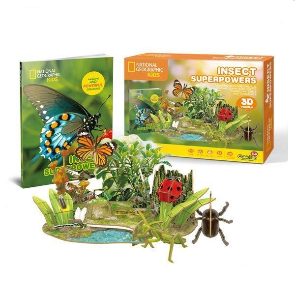 3D PUZZLE INSECT SUPERPOWERS
