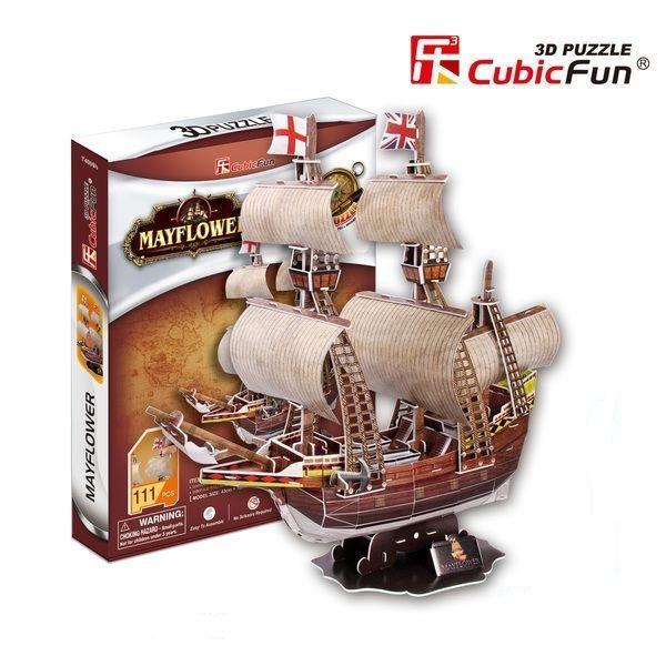 3D PUZZLE MAYFLOWER schooner
