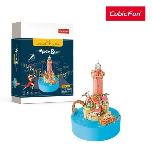 3D PUZZLE MUSIC BOX - SUMMER ISLAND