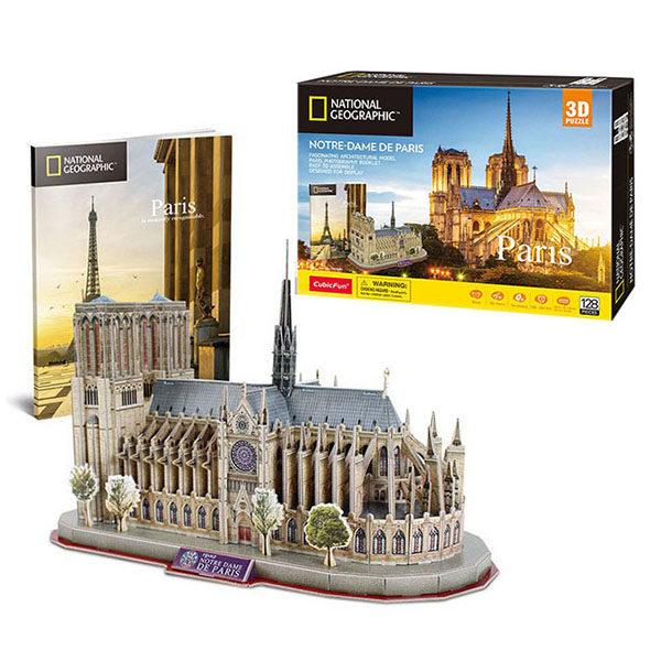 3D PUZZLE NOTRE DAM DE PARIS