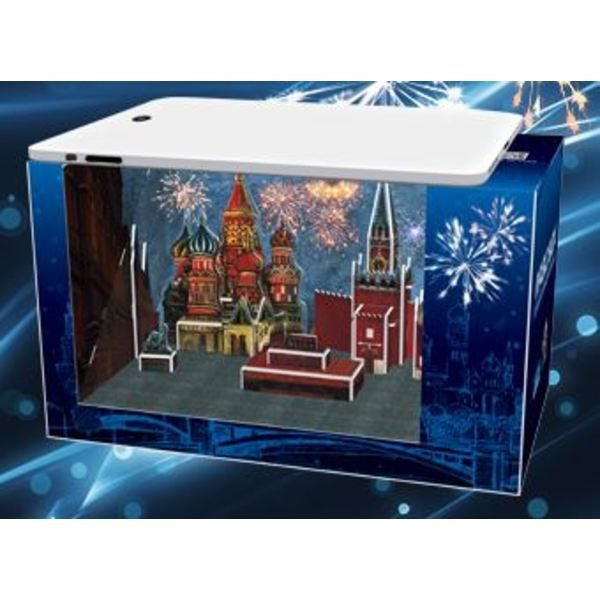 3D PUZZLE New Year's Eve-In Moscow