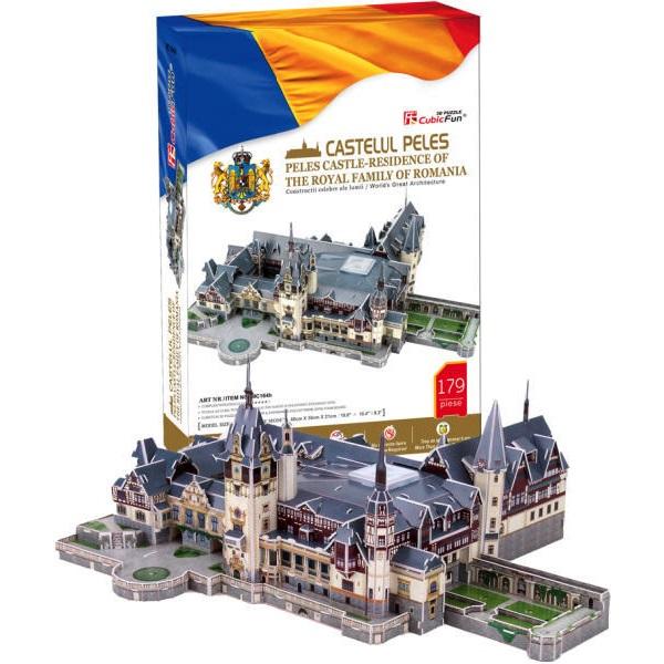 3D PUZZLE Peles Castle