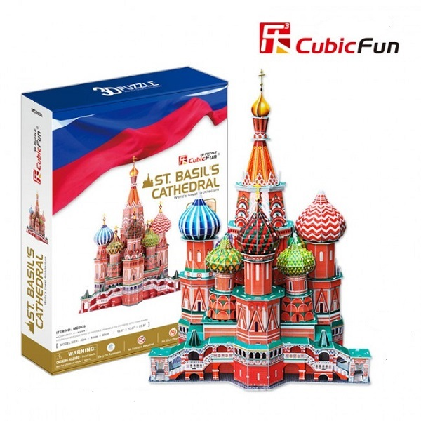 3D PUZZLE St. Basil's Cathedral