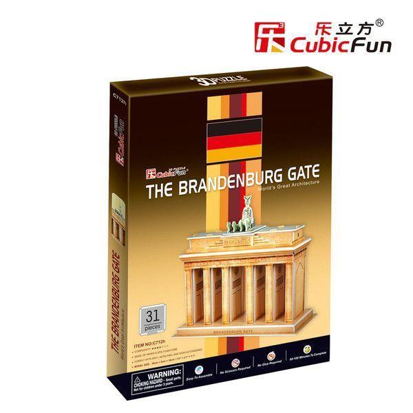 3D PUZZLE The Brandenburg Gate