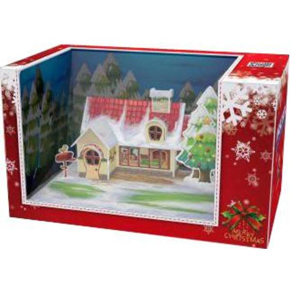 3D PUZZLE The Chirstmas Cottage