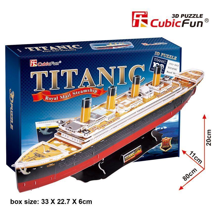 3D PUZZLE Titanic (large)
