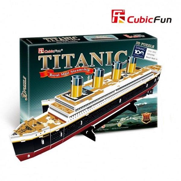 3D PUZZLE Titanic (small)