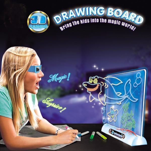 3D Planset pentru desen Magic Drawing Board