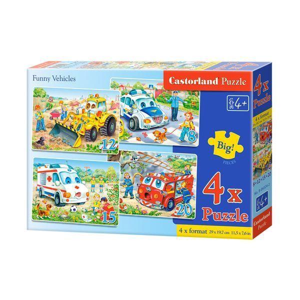4×Puzzle 8+12+15+20