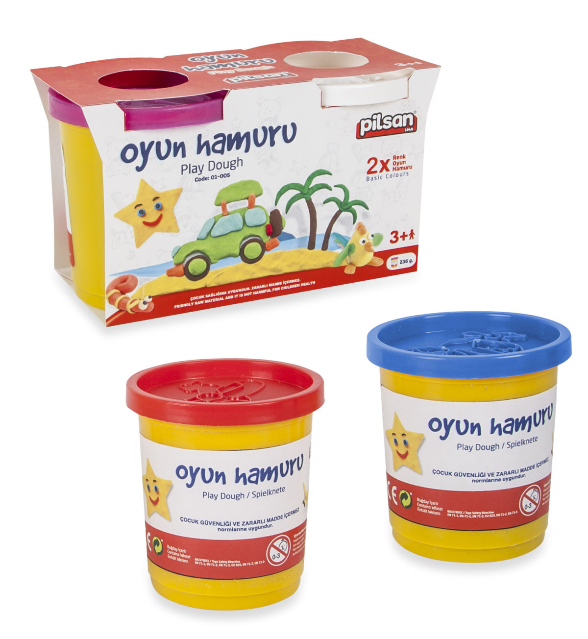 Aluat PLAY DOUGH (2x100gr)