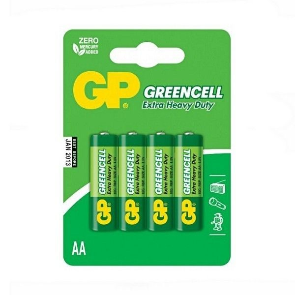 Baterie GP AA 15G U4 Greencell
