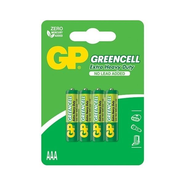 Baterie GP AAA 24G U4 Greencell
