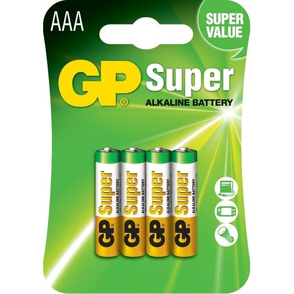 Baterie GP AAA Super Alkaline 24A U4
