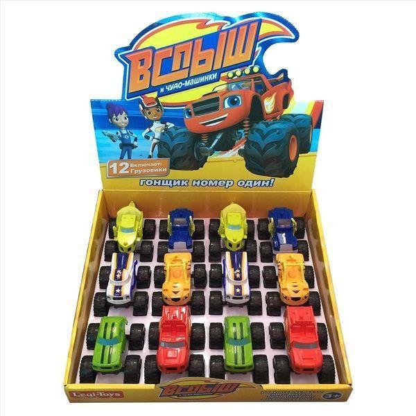 Blaze Truck 12 buc /set LQ888