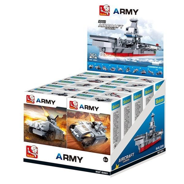 CONSTRUCTOR ARMY 10 INTO 1 AIRCRAFT CARRIER