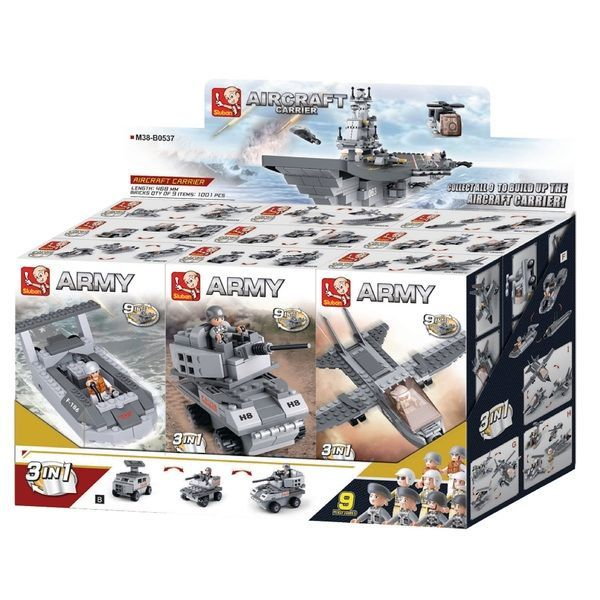 CONSTRUCTOR ARMY 9 in 1 AIRCRAFT CARRIER