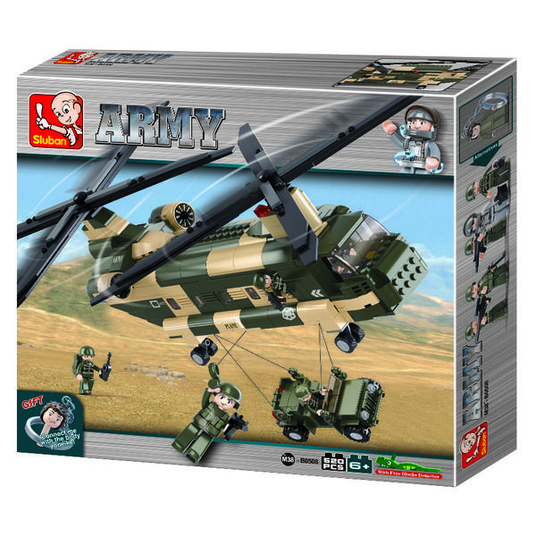 CONSTRUCTOR ARMY - Transport Helicopter