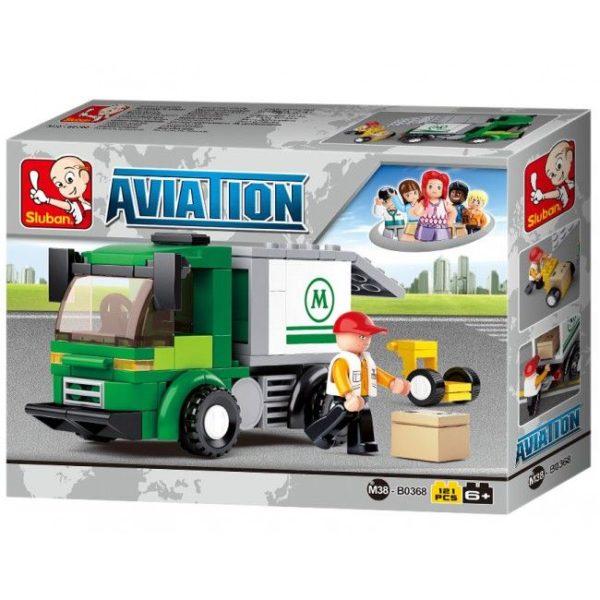 CONSTRUCTOR AVIATION -Airport Security Van