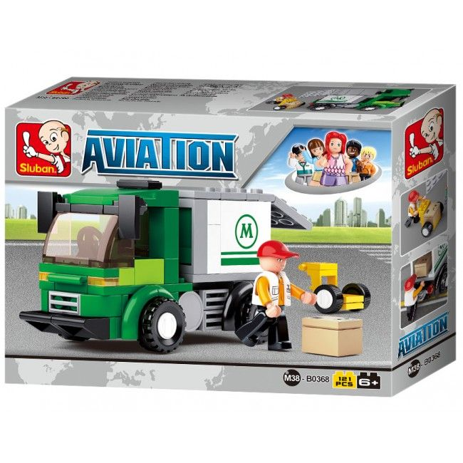 CONSTRUCTOR AVIATION -Airport Security Van