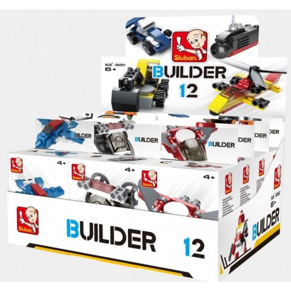 CONSTRUCTOR BUILDER 12 MIX