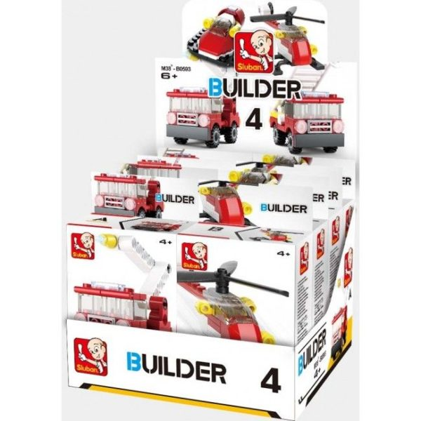 CONSTRUCTOR BUILDER 4 FIRE