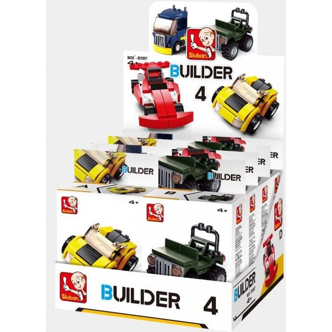 CONSTRUCTOR BUILDER 4 VEHICLES