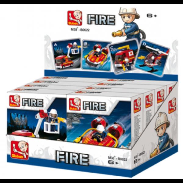 CONSTRUCTOR FIRE 8/set