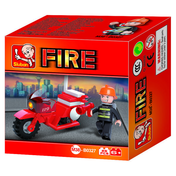 CONSTRUCTOR  FIRE FIGHTING MOTORCYCLE(25PCS)