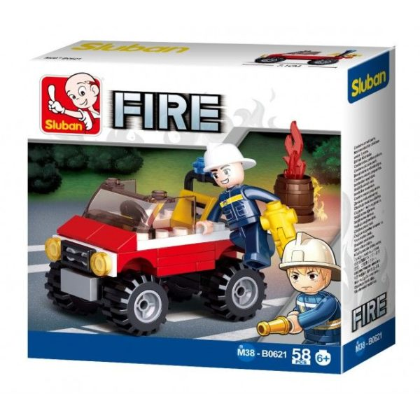 CONSTRUCTOR FIRE Police Car