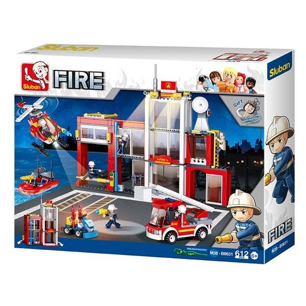 CONSTRUCTOR Fire Station