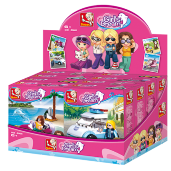 CONSTRUCTOR GIRL IS DREAM 8/set