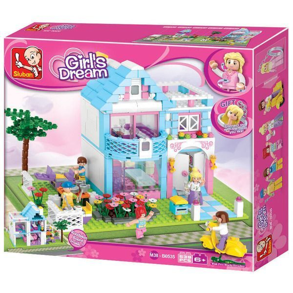 CONSTRUCTOR GIRL IS DREAM FAMILY HOUSE