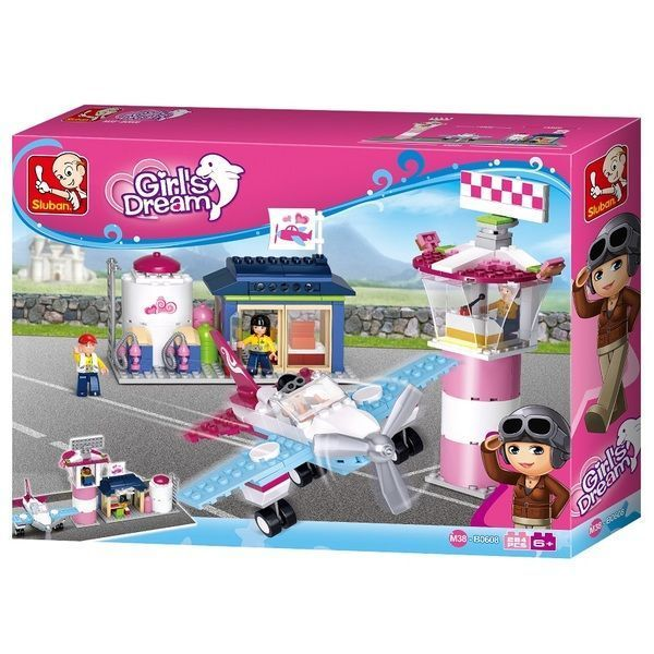 CONSTRUCTOR GIRL IS DREAM Fantasy Flying Club 284pcs