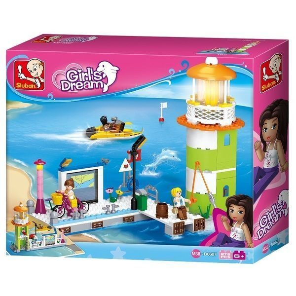 CONSTRUCTOR GIRL IS DREAM Lighthouse & Pier 279pcs