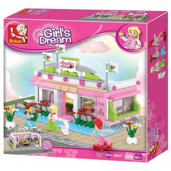 CONSTRUCTOR GIRL IS DREAM SNOOKER CLUB