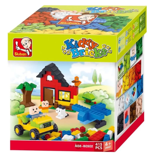 CONSTRUCTOR Kiddy Bricks