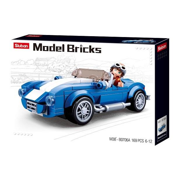 CONSTRUCTOR MODEL BRICKS - COBRA GT 40