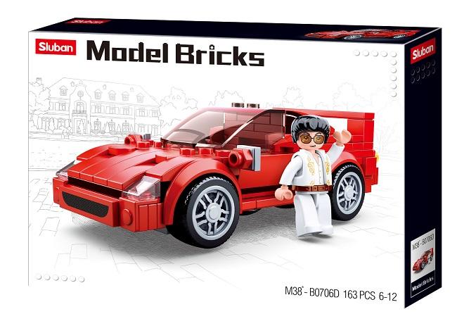 CONSTRUCTOR MODEL BRICKS - F40 CAR