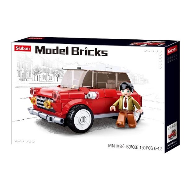 CONSTRUCTOR MODEL BRICKS - MINI CAR