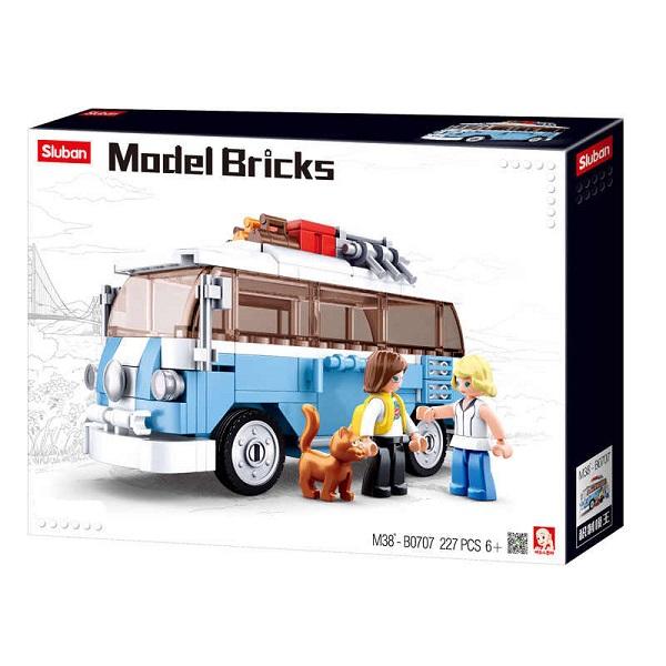 CONSTRUCTOR MODEL BRICKS - T1 CAR