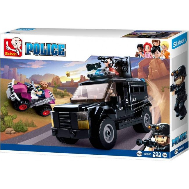 CONSTRUCTOR POLICE Armored Assault Vehicle