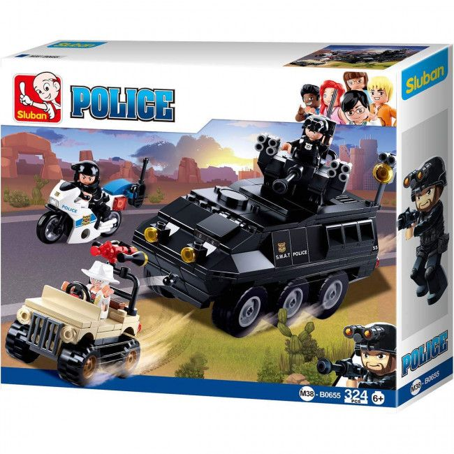 CONSTRUCTOR POLICE Armored Vehicle