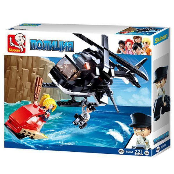 CONSTRUCTOR POLICE Assault Helicopter