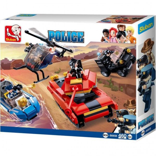 CONSTRUCTOR POLICE CITY