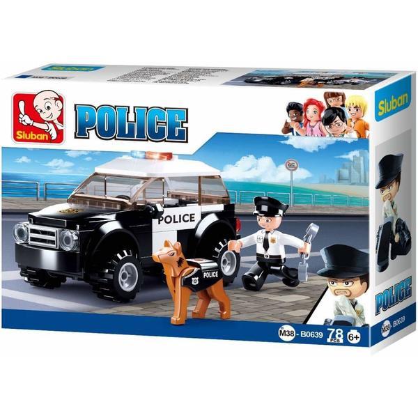 CONSTRUCTOR POLICE Suv Patrol Car