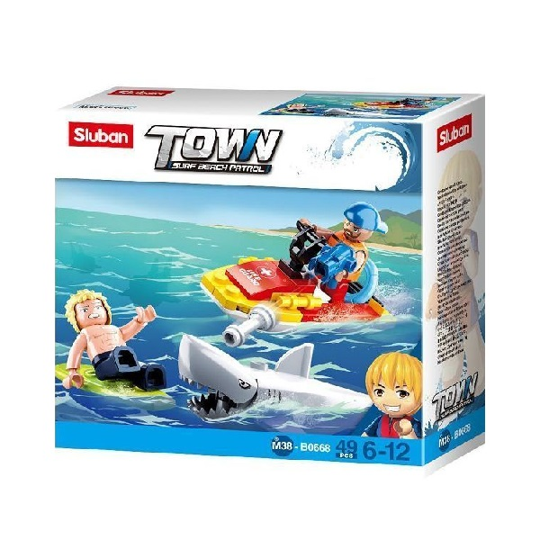 CONSTRUCTOR TOWN - BEACH RESCUE